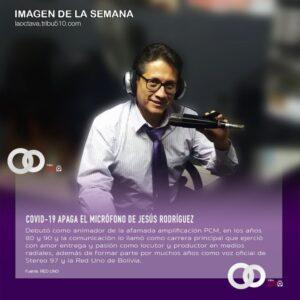 Locutor Jesús Rodríguez