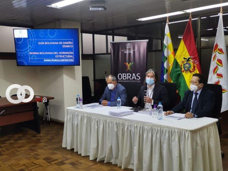«Guía Boliviana de Diseño Sísmico» y «Norma Boliviana del Hormigón Estructural» fueron presentadas para edificación de nuevos espacios