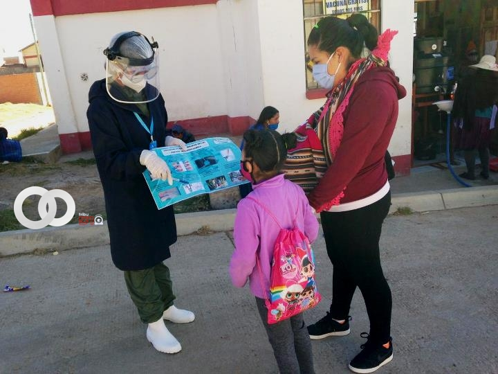 Ministerio de Salud entrega kits de higiene bucal en Sucre