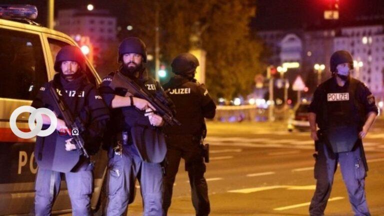 Atentados terroristas dejan personas fallecidas en Austria