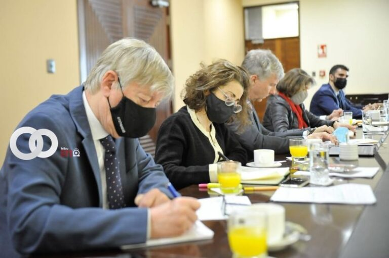 Legislativo se reunió con el GIEI-Bolivia