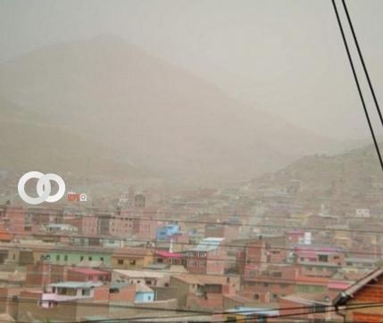 Alerta naranja en Potosí por llegada de vientos de hasta 70 km por hora