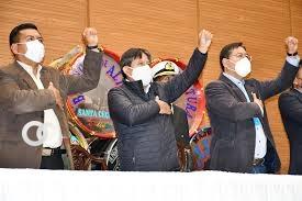 Brindará su respaldo a la cultura, músicos y artistas bolivianos.