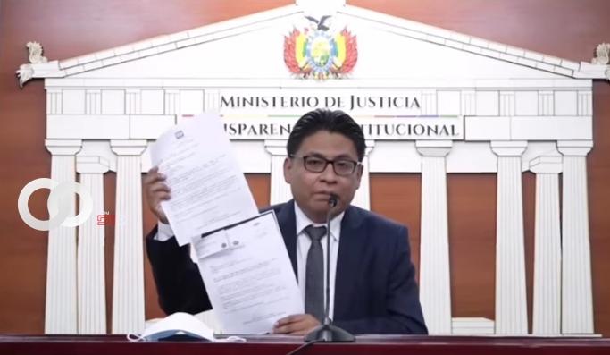 Ministerio de Justicia denunció que falsificaron la firma del Presidente Luis Arce