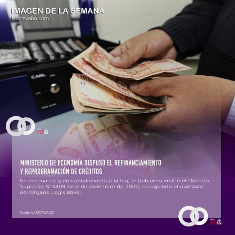Ministerio de Economía dispuso el refinanciamiento y reprogramación de créditos