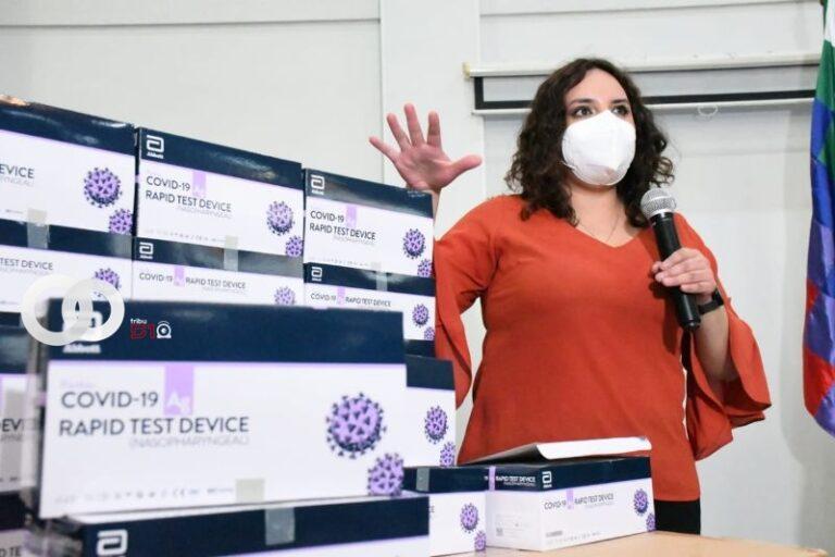 La Paz, Santa Cruz y Cochabamba, primeros beneficiados en recibir prueba de antígeno nasal