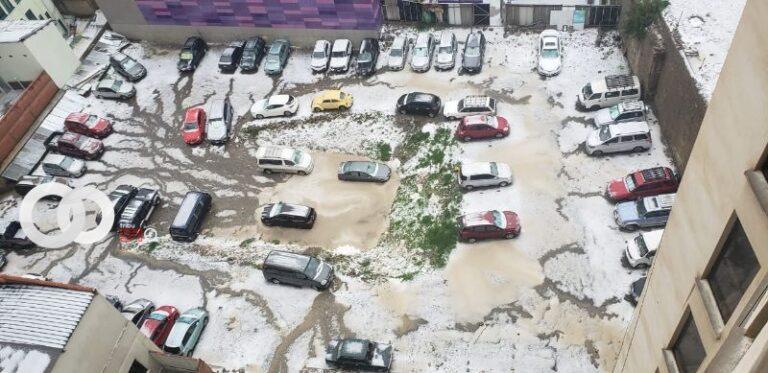 Alcaldía desplegó personal debido a casos de emergencia producto de la granizada
