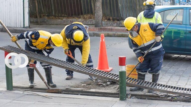 50 sumideros de la ciudad de La Paz fueron limpiados en 5 días