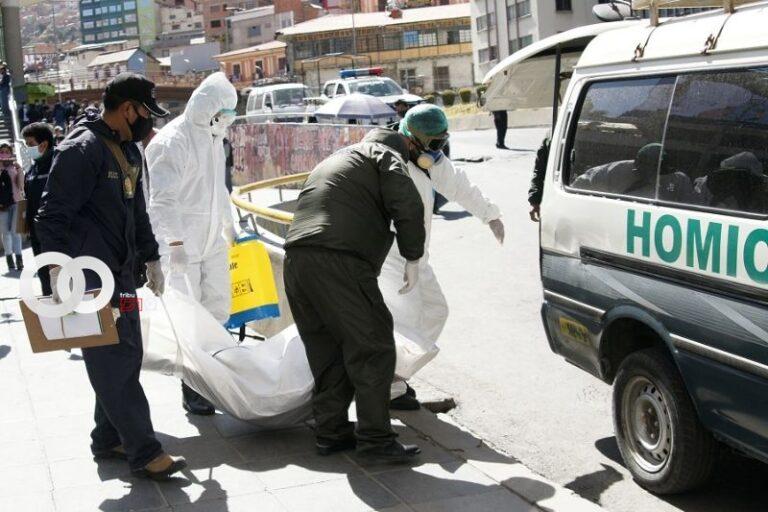 Levantamiento de tres cadáveres en un día por Coronavirus