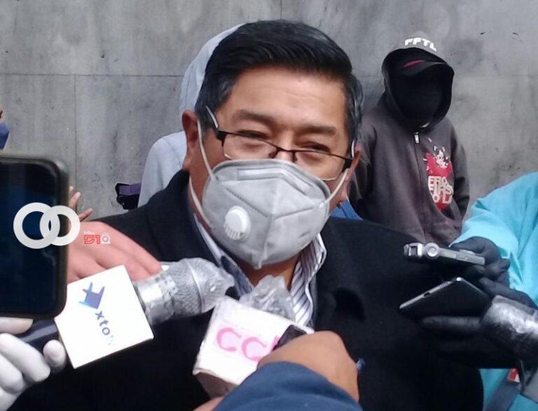 Choferes exigen a Alcaldía dotación de barbijos y fumigación