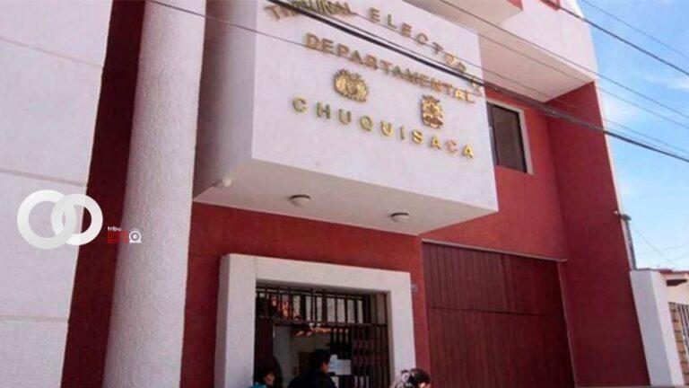 TED de Chuquisaca destacó la inscripción de candidatos de origen indígena