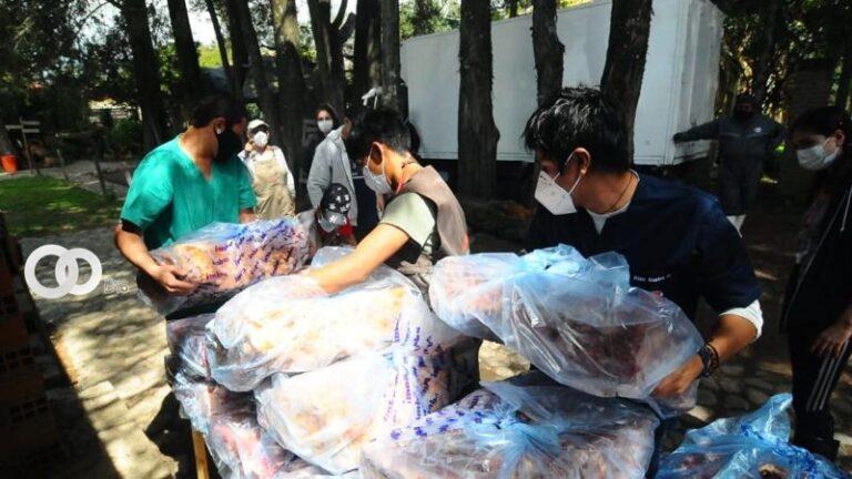 Cochabamba: Imba entrega media tonelada de alimentos a refugio de animales