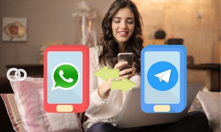 Telegram actualiza su versión que permite importar los chats de WhatsApp