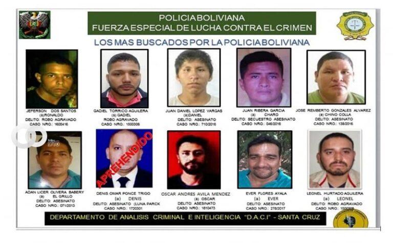 Policía presenta lista de prófugos buscados por graves delitos