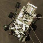 """""""Perseverance"""" envía su primer """"selfie"""" en Marte"""