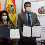 Ministerio Público y Alcaldía sucrense firman convenio para transferencia de terreno