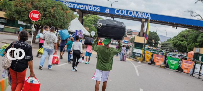 Colombia anuncia Estatuto de Protección Temporal para migrantes venezolanos