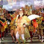 Cámara de Senadores rinde homenaje a la Fraternidad Artística Diablada