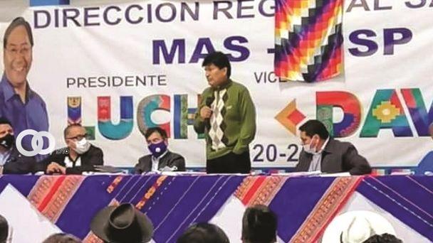 Evo reforzará este martes la campaña del MAS en la ciudad de El Alto