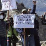 Empleados bloquean relleno sanitario de La Paz y las calles se llenan de basura