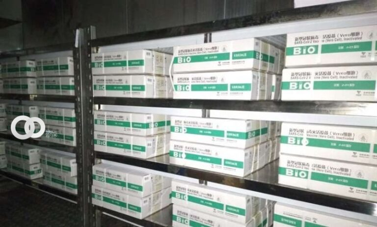 Vacunas Chinas Sinopharm fueron distribuidas a nivel nacional