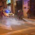 Alcaldía de Oruro realiza fumigaciones en la ciudad para contener los contagios por Covid-19