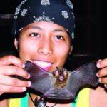 Kathrin Barboza, científica boliviana apasionada por los murciélagos y la biodiversidad