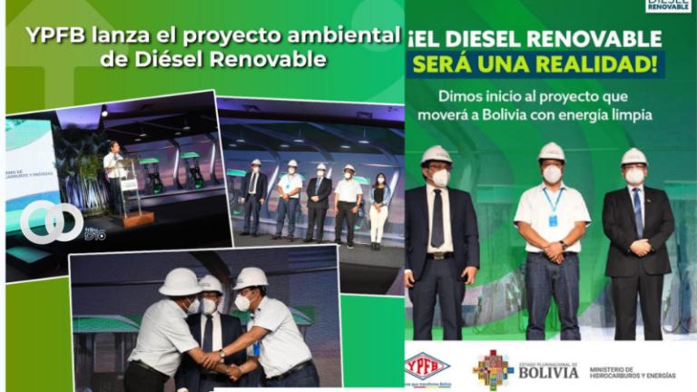 Bolivia será pionero en Latinoamérica en la construcción de una Planta de Diésel Renovable