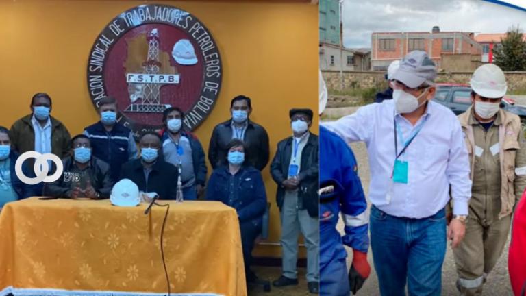 Federación de trabajadores petroleros respalda designación del Presidente de YPFB