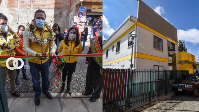 Alcaldía paceña entregó el Centro de Salud San José Natividad al barrio Comibol de Periférica