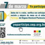 Infórmate antes de votar este 7 marzo en las Subnacionales
