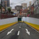 Habilitan nuevo viaducto de la nueva plaza Tejada Sorzano