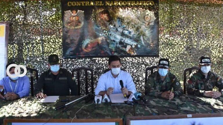 Hallazgo de droga y armas en dos exitosos operativos para la Policía Boliviana