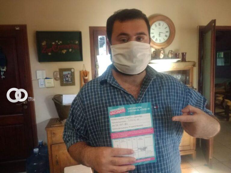 Seguimiento del ciudadano en el proceso de vacunación masiva en Arrecifes, Argentina