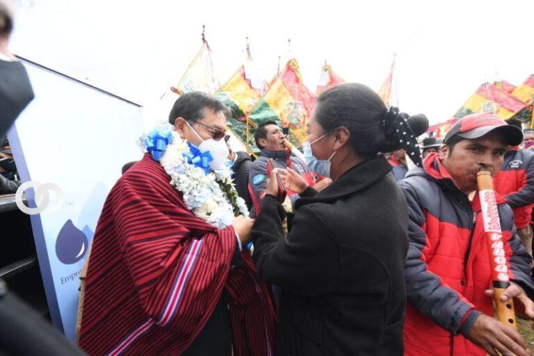 """Luis Arce advirtió que hará respetar el voto popular con """"justicia"""" para El Alto"""