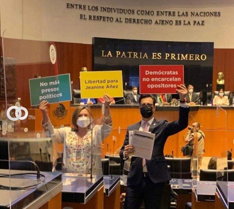 "Parlamentarios mexicanos protestaron en presencia de Arce por la ""persecución política"""