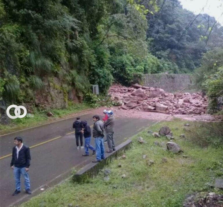Autoridades suspenden salidas al Chaco por derrumbes en las carreteras