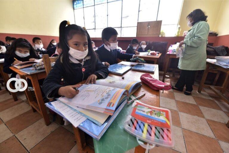 DDE de La Paz anuncia que clases semipresenciales podrían iniciar a mediados de abril