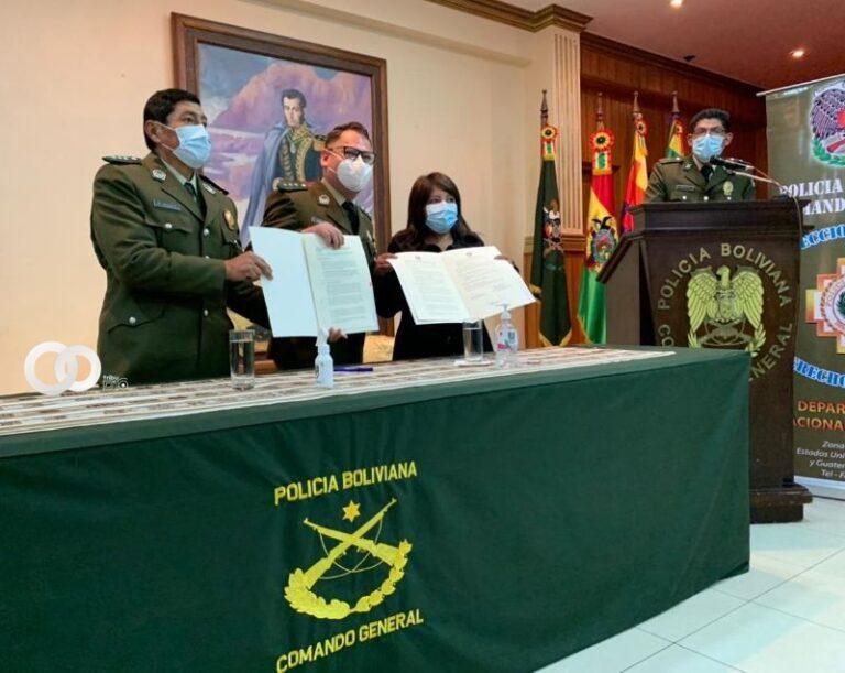 Capacitación a la Policía Boliviana en el ejercicio de Derechos Humanos