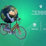 """""""Ciclistas por el Medio Ambiente"""" reforestan el parque Khora"""