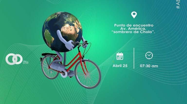 """Segunda versión de la caravana """"Ciclistas por el Medio Ambiente""""."""