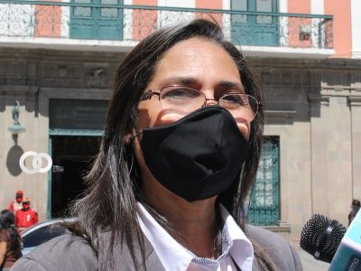 Senadora de Creemos denuncia vulneración de derechos por parte del TSE