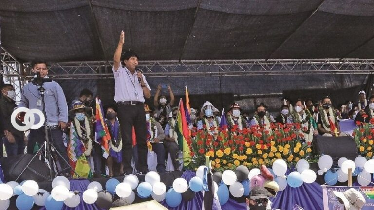 Evo Morales busca que autoridades del MAS no postulen con otra sigla