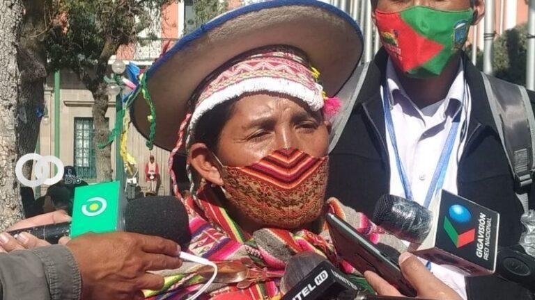 Tras posesión de Chuquimia, Patty reclama que «no hay confianza en los indígenas»