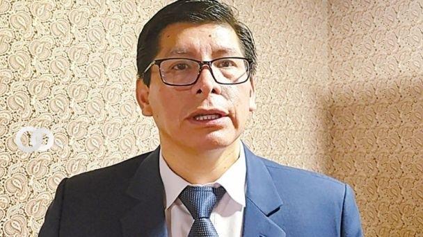 Cervantes presenta su renuncia como presidente del TED Chuquisaca