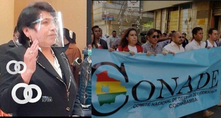 Chuquimia vuelve al TSE y Conade Cochabamba cuestiona la designación