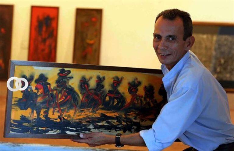 Falleció el reconocido artista plástico Ciro Paz