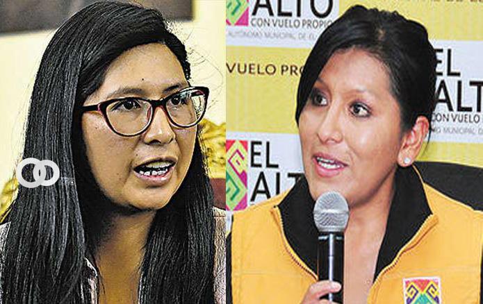 Eva Copa observó contrataciones irregulares de Soledad Chapetón