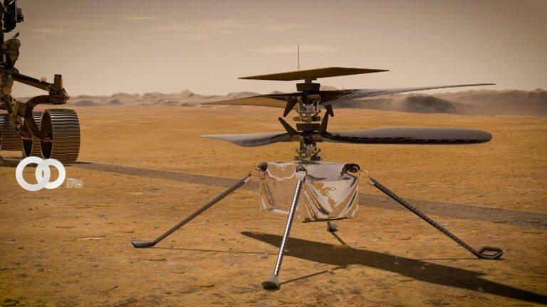 el Helicóptero Ingenuity en Marte
