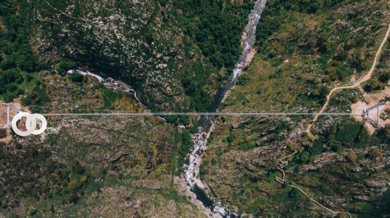 Portugal inauguró el puente peatonal más largo del mundo